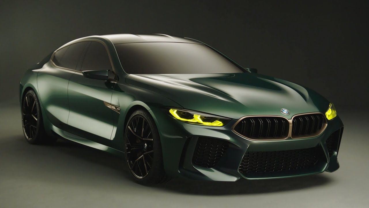 2018 bmw m8 gran coupe concept [ 1280 x 720 Pixel ]