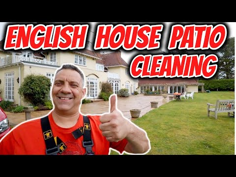 pressure washer patio cleaning