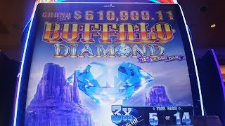 BIG WIN - BONUS / NEW BUFFALO DIAMOND / SLOT MACHINE