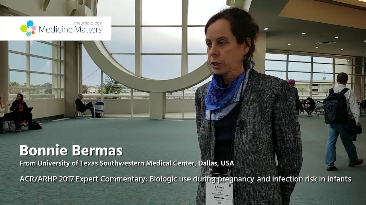Biologic use during pregnancy and infection risk in infants | Bonnie Bermas