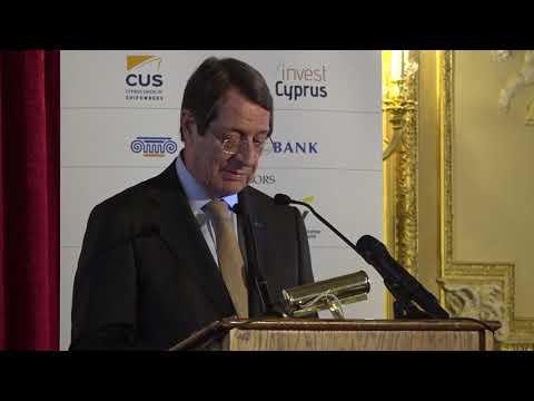 2018 2nd Invest in Cyprus Forum - Keynote Address