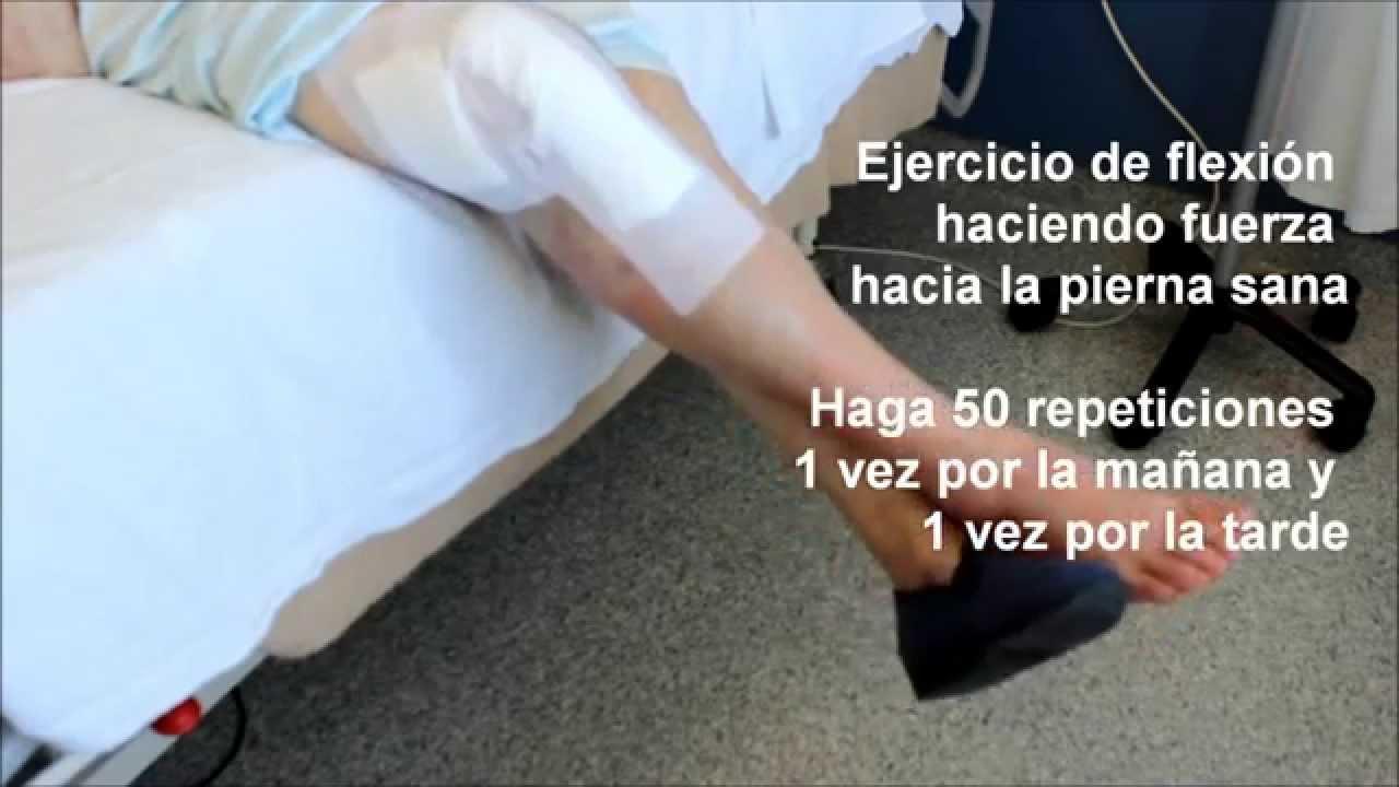 Fhes Protesis De Rodilla Recomendaciones Previas Y Ejercicios Posoperatorios