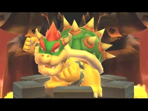 Mario Party: Island Tour - Party Mode - Bowser's Peculiar Peak