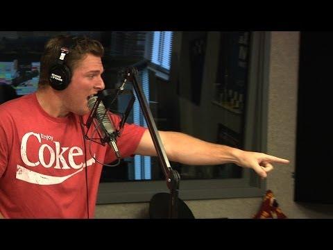 Pat McAfee Sings Ricky Martin