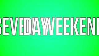 "JTX ""Seven Day Weekend"" (OFFICIAL LYRIC VIDEO)"