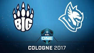 CS:GO - BIG vs. Heroic [Cbble] Map 1 - Quarterfinal - ESL One Cologne 2017 EU Qualifier
