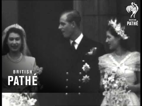Elizabeth And Philip Wedding (1947)