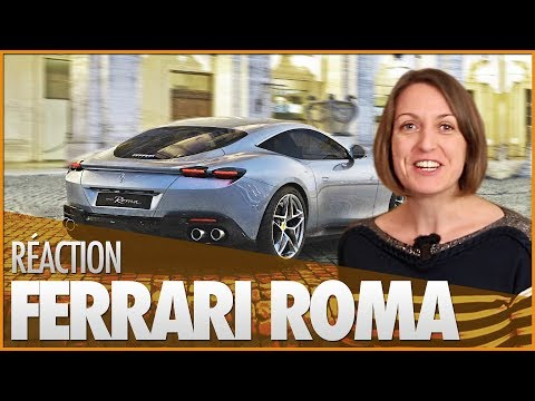 🚗 ILS DÉCOUVRENT LA FERRARI ROMA !