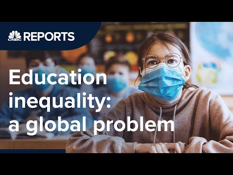 The problem of education inequality   CNBC Reports
