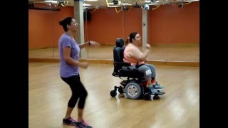 "Seated (Wheelchair) Zumba - ""La Mordidita"" - Ricky Martin ft Yotuel"