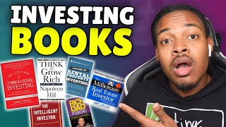 Top 5 Books To Learn About Investing | Investing for Beginners
