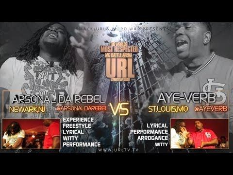 Smack / URL Presents Aye Verb vs. Arsonal (Rap Battle)
