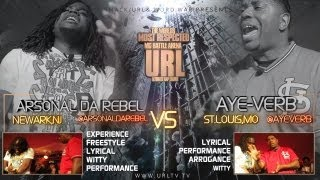 SMACK/URL & WORD WAR PRESENT AYE VERB VS ARSONAL
