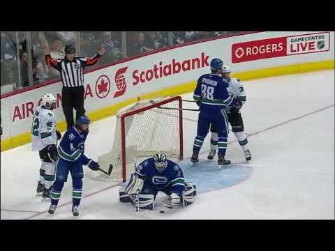 San Jose Sharks vs Vancouver Canucks - April 2, 2017 | Game Highlights | NHL 2016/17