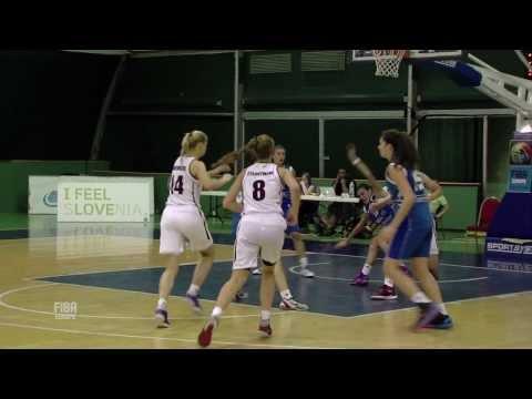Video : Εθνική Κορασίδων |  Λετονία - ΕΛΛΑΔΑ 56-55