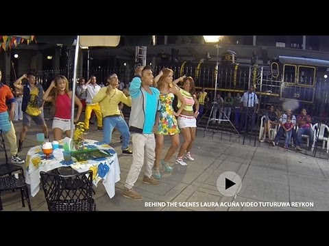 BEHIND THE SCENES LAURA ACUÑA VIDEO TUTURUWA REYKON HD 1080p Videos De Viajes