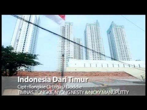 Timnas Ft. Tongkie, Nyong Nesty, Nicky Manuputty - Indonesia Dari Timur