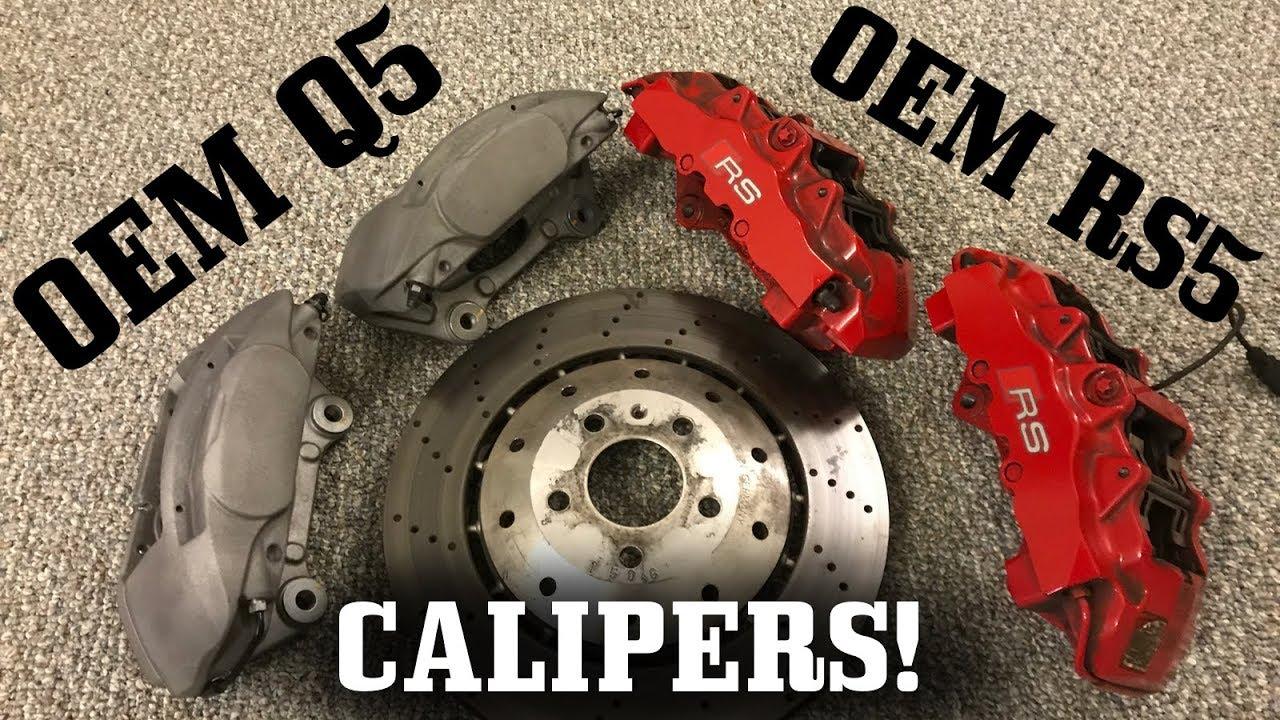 Best Brake Rotors >> B8.5 S4 Getting 4 Piston Q5 Brembo Brake Upgrade! - YouTube