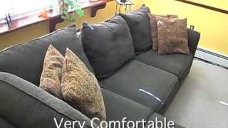 Alan White 3 Piece Sectional Sofa with Chaise