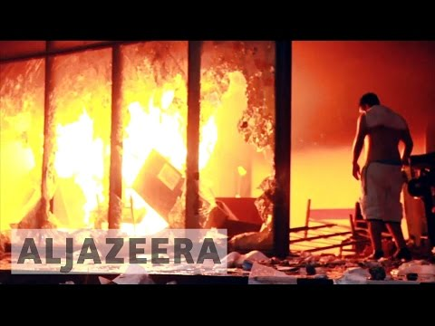 Paraguay: Protesters set fire to Congress building