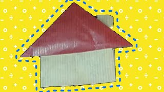 Origami House Instructions