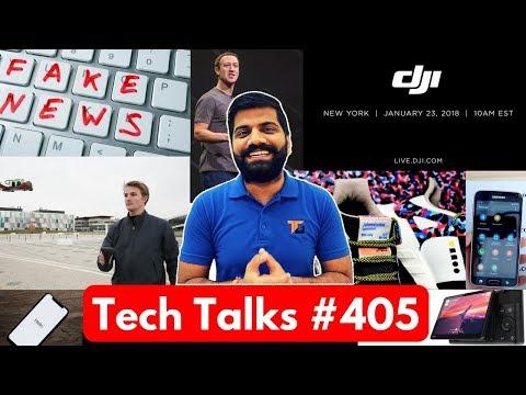 Tech Talks #405 - Flipkart Amazon Sale, Mavic Air, LG Folding Phone, Samsung Copy