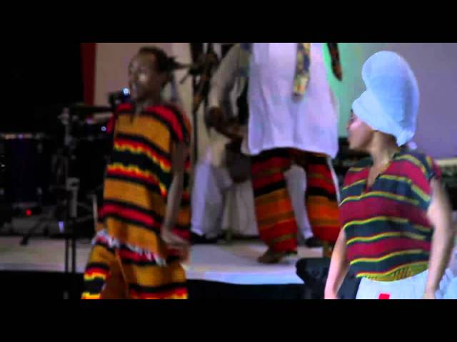 AGRF 2014 Entertainment by Ethiopian Traditional Dancers