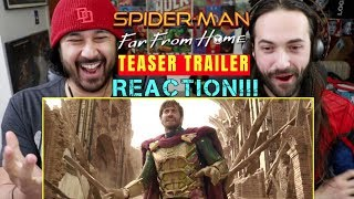 SPIDER-MAN: FAR FROM HOME | Teaser TRAILER - REACTION!!!
