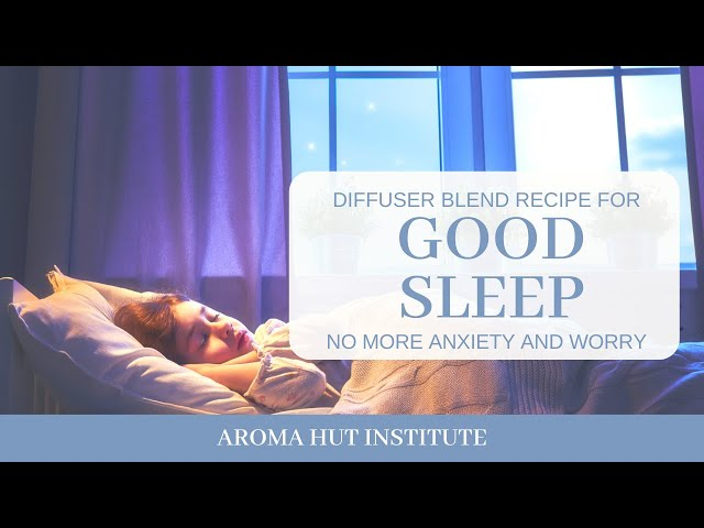 Diffuser Blend For Sleep | Essential Oils | Diffuser Blend for Sleeping