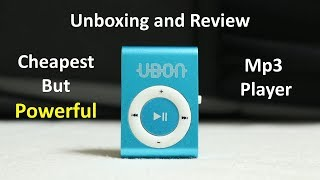 World's Cheapest Mp3 Player with Sd card Slot! Unboxing and Review in Hindi