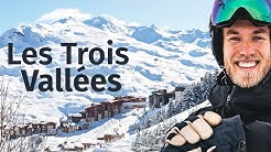 Skifahren im größten Skigebiet der Welt: Les Menuires, les 3 Vallées 🇫🇷