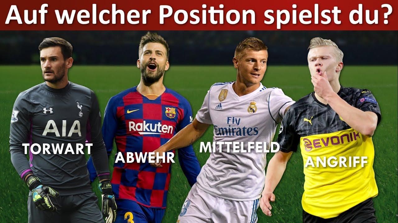 Welche Position passt zu dir? ⚽ Fußball Quiz 2020