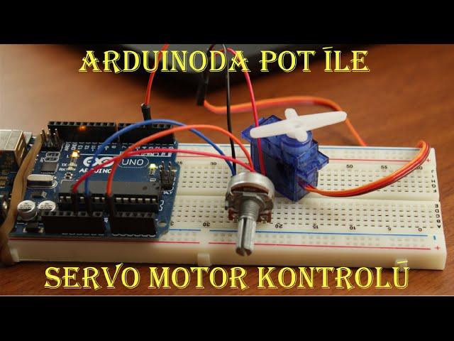 Potansiyometre Ile Rc Servo Motor Kontrolu Video Mas Popular