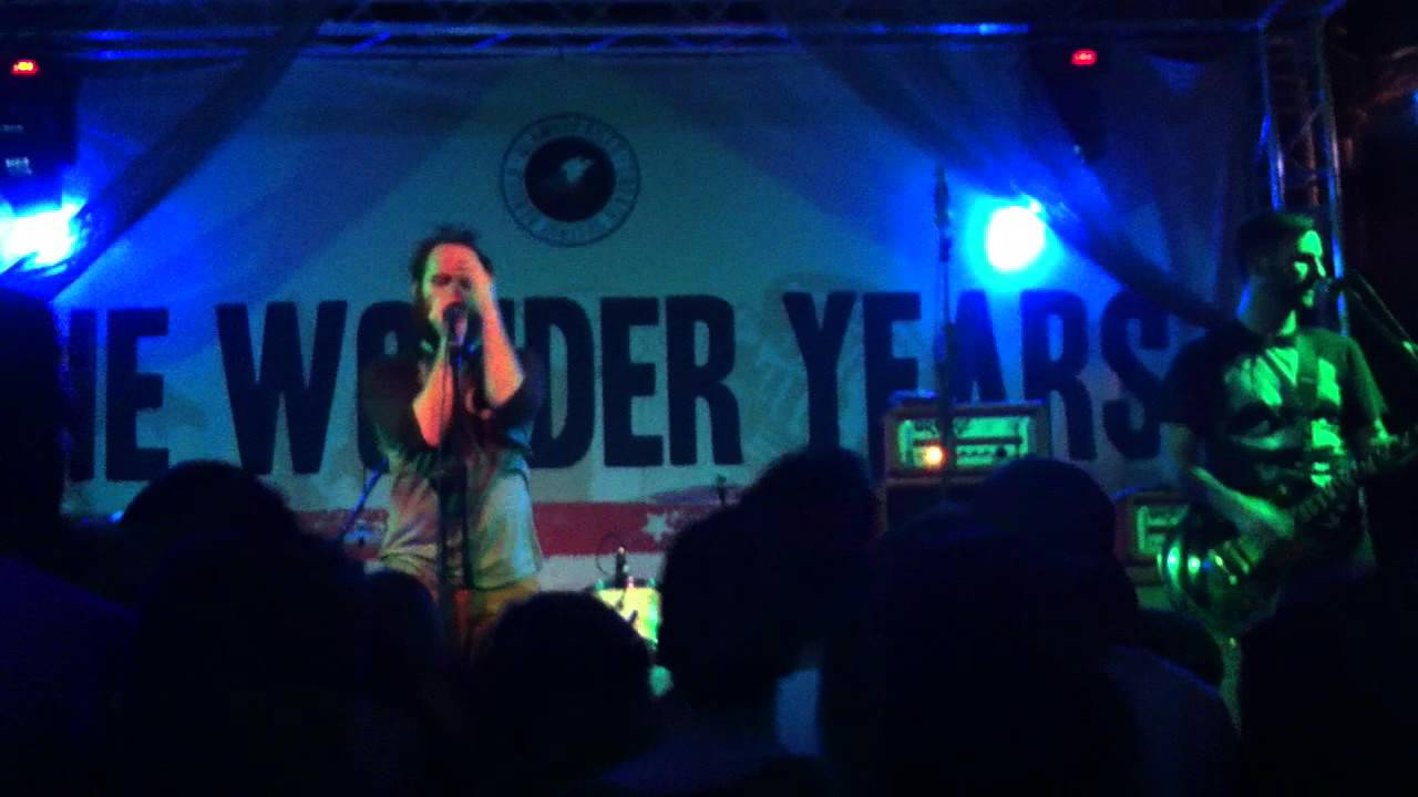The Wonder Years The Living Room Song Live Milan 11 26 13 Youtube