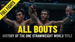 History Of The ONE Championship Strawweight World Title