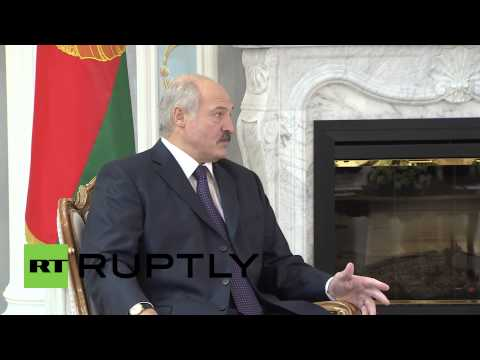 Belarus: 'West is aggravating Ukraine conflict' - Lukashenko