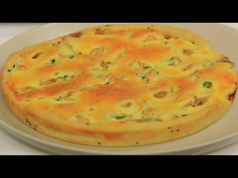 صورة  طريقة عمل البيتزا بيتزا بالدجاج | نجلاء الشرشابي طريقة عمل البيتزا بالفراخ من يوتيوب