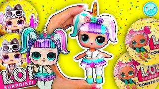 UNICORN LOL SURPRISE DOLL Wave 2 | DIY Theater Club | How to Make CUSTOM
