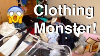 CLOTHING MONSTER!!!