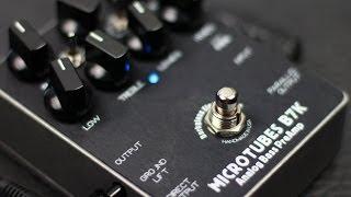 Darkglass Electronics Microtubes B7K Bass Overdrive - BASS Demo