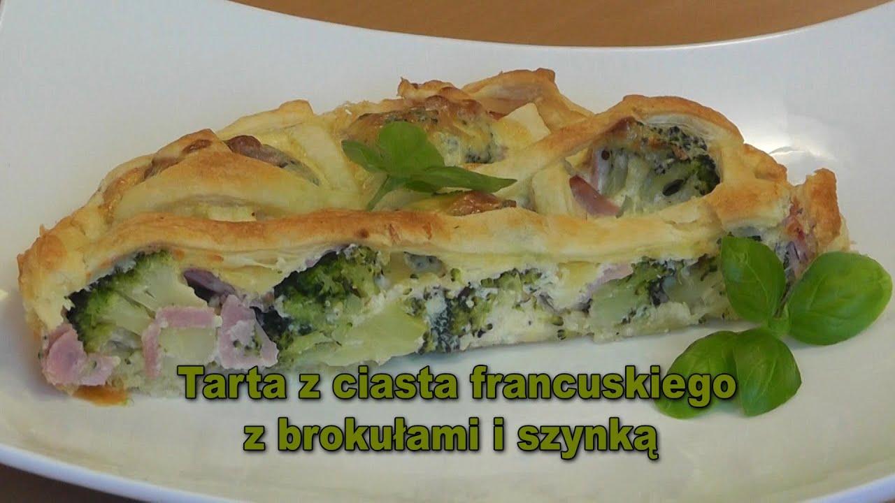 Tarta Z Ciasta Francuskiego Z Brokulem I Szynka Smakkujaw Pl Hd