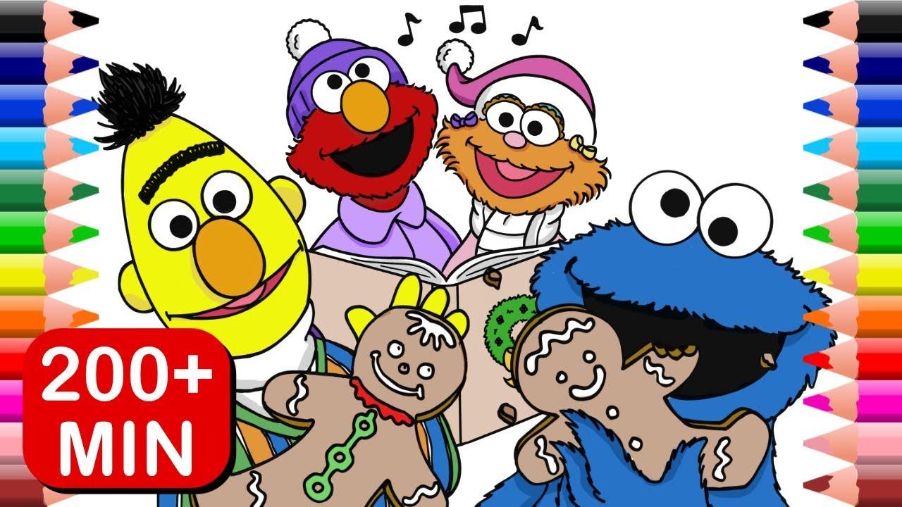 Sesame Street Christmas Coloring Spectacular | Elmo Abby Big Bird ...