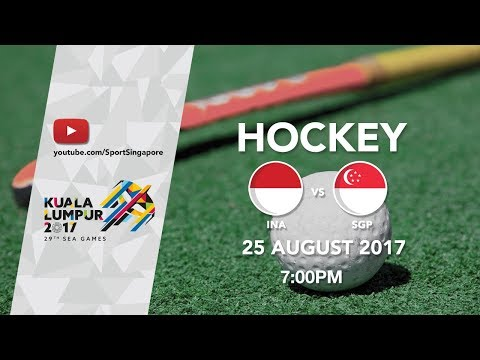 Hockey Women's Indonesia 🇮🇩 vs 🇸🇬 Singapore | 29th SEA Games 2017