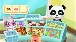 Fun Games For Babies - Rabbits Go To Supermarket Open Fun Party with Little Panda
