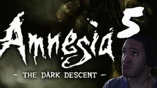 STAY OUT OF THE WATER!! | Amnesia: The Dark Descent: Part 5