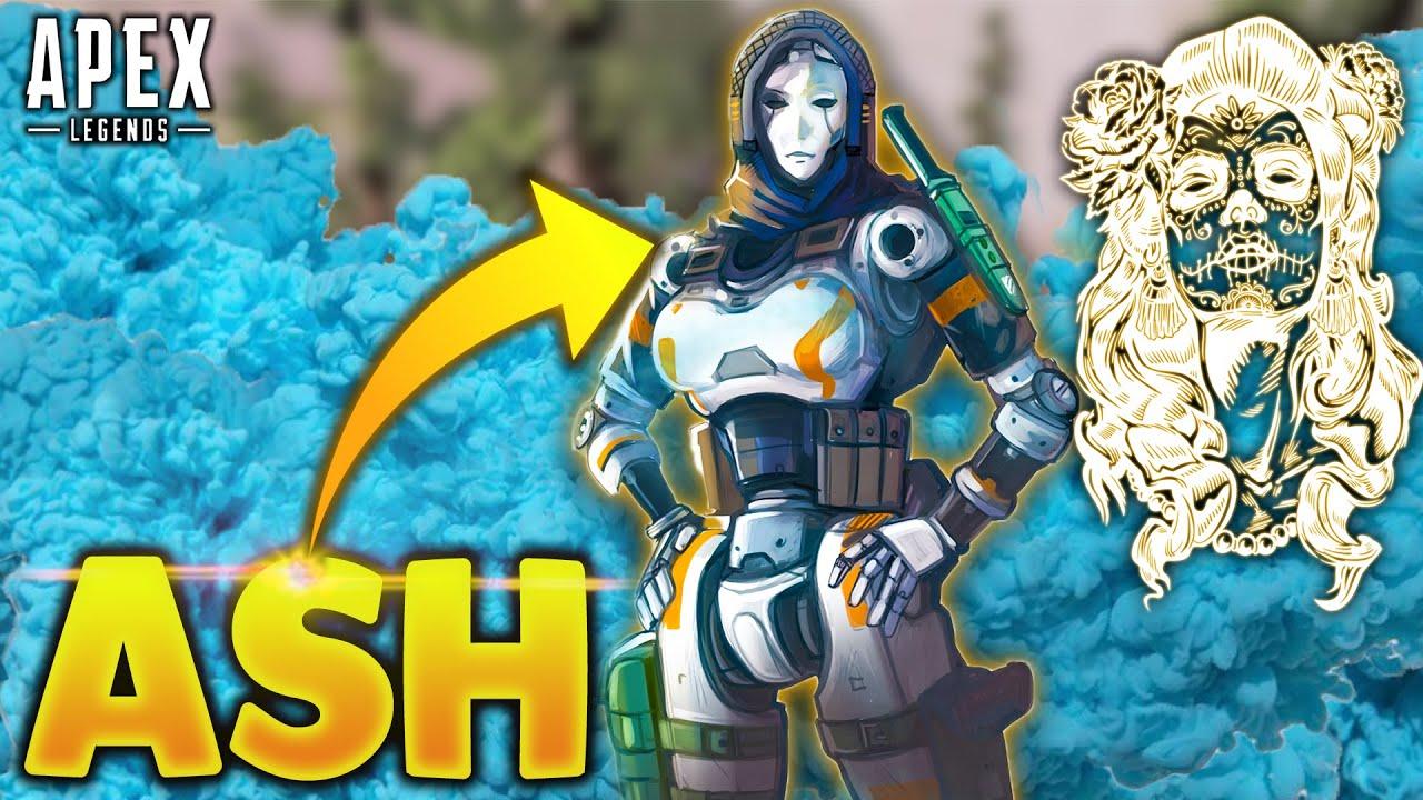 ASH IS BROKEN GHOST?!? -  Apex Legends Moments #210