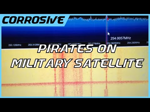 Military Satellite Pirates Intercepted with a $10 SDR