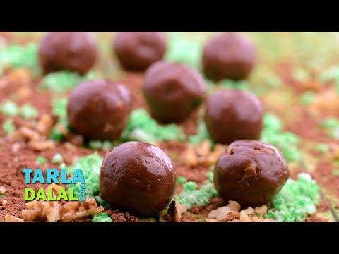 Download Youtube: Chocolate Walnut Fudge Balls by Tarla Dalal