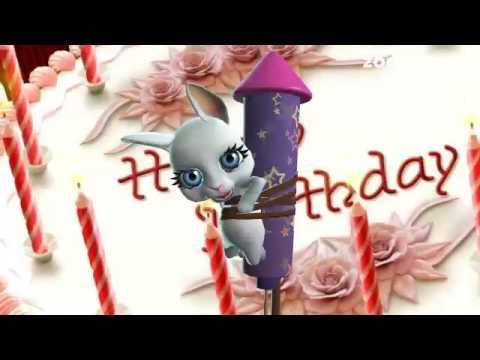 Юморные поздравления с днем рождения женщине. Видео открытки.