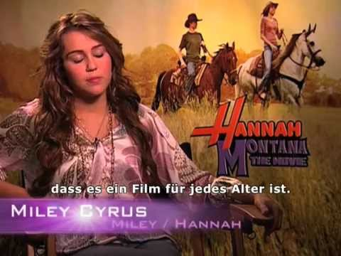 Hannah Montana - Interview mit Miley
